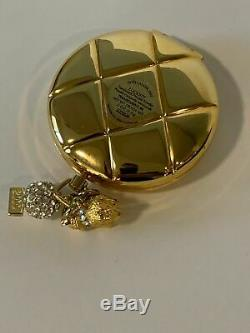Estee Lauder Personal Charm Compact Lucidity SWOVARSKI Ball & Kitten