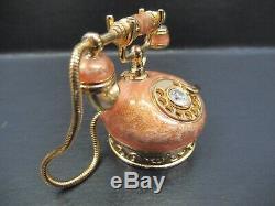 Estee Lauder Pink Enamel Princess Phone Pleasures Solid compact Perfume 2000