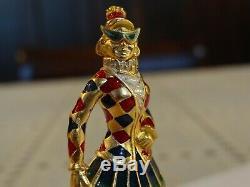 Estee Lauder Pirouette Harlequin Solid Perfume Compact 2001