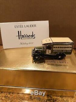 Estee Lauder Pleasures 1 of 400'02 Harrods Classic Delivery Van Perfume Compact