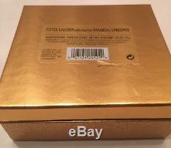 Estee Lauder Pleasures MAGICAL UNICORN Figural Compact Solid Perfume 2001 NIB