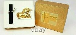 Estee Lauder Pleasures Magical Unicorn Solid Perfume Compact. 03 Oz Box 2001