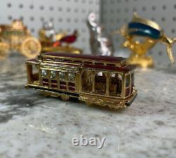 Estee Lauder Pleasures San Francisco Trolley Car Compact Solid Perfume 2003 Full