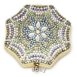 Estee Lauder Powder Compact 2005 Crystal Dreams Mint Condition