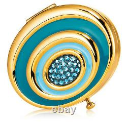 Estee Lauder Powder Compact 2008 Crystal Whirlpool Mint Condition