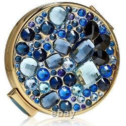 Estee Lauder Powder Compact 2013 Sapphire Starry Night Mint Condition