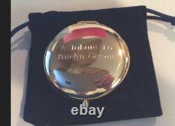 Estee Lauder Powder Compact A Touch of Beauty Tribute to Roslyn Gerson MIBB