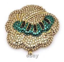Estee Lauder Powder Compact All the Buzz Caterpillar in Original Box or Boxes