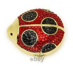 Estee Lauder Powder Compact Glitter Bugs Ladybug in Original Box or Boxes