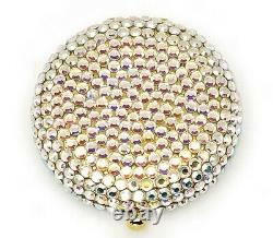 Estee Lauder Powder Compact Glitterball Aurora White New in Both Boxes