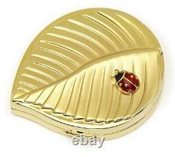 Estee Lauder Powder Compact Ladybug Mint Condition