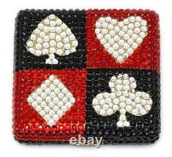 Estee Lauder Powder Compact Lucky Suits Mint Condition