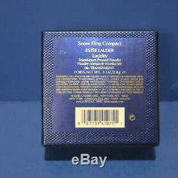 Estee Lauder Powder Compact New Old Stock Never Used Snow Fling