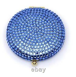 Estee Lauder Powder Compact Shimmering Blues MIBB