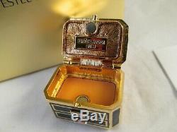 Estee Lauder Precious Jewels Solid Perfume Compact Gardenia BNIB Never used