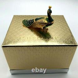 Estee Lauder Precious Peacock Compact for Solid Perfume Pleasures Perfume 2003