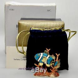 Estee Lauder RADIANT FISH Compact for Solid Perfume 2005 Collection All Boxes