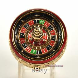Estee Lauder ROULETTE WHEEL Compact for Solid Perfume 2002 New All Boxes