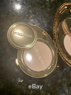 Estee Lauder Rare Limited Edition 2003 Blue India Paisley Compact- Full Powder