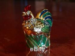 Estee Lauder Rooster Solid Perfume Compact 2001