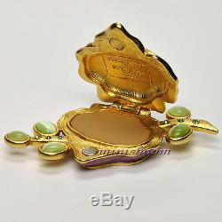 Estee Lauder SENSUOUS VIBRANT VIOLET Solid Perfume Compact by Jay Strongwater