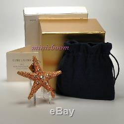 Estee Lauder SHIMMERING STARFISH Solid Perfume Compact 2007 New in Box