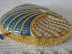 Estee Lauder Sea Shell with pressed powder compact BRAND NEW Beautiful