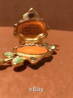 Estee Lauder Sensuous Spring 2010 Vibrant Violet Perfume Compact Jay Strongwater