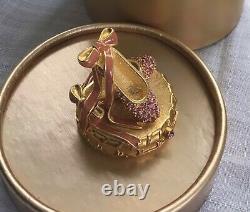 Estee Lauder Solid Perfume Compact 1999 Ballet Slippers Beautiful NIB