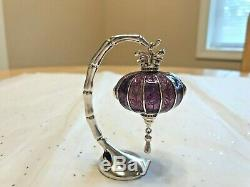 Estee Lauder Solid Perfume Compact 2005 Royal Lantern Empty