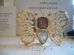 Estee Lauder Solid Perfume Compact 2008 Delicate Butterfly Mib Sooo Pretty