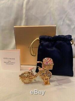 Estee Lauder Solid Perfume Compact/ 2008, Spirited Bike Ride, Extremely Rare