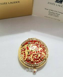 Estee Lauder Solid Perfume Compact 2020 Year of the Ox MIBB