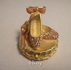 Estee Lauder Solid Perfume Compact Ballet Slippers Original Perfume