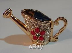 Estee Lauder Solid Perfume Compact Beautiful Watering Can 2001