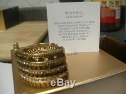 Estee Lauder Solid Perfume Compact Coliseum Both Boxes