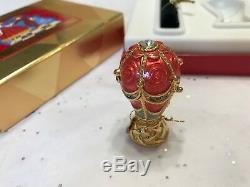 Estee Lauder Solid Perfume Compact Fantastic Voyage Mib Beautiful 1995 Balloon