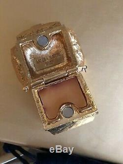 Estee Lauder Solid Perfume Compact Glimmering Take Out 2009 RARE