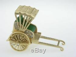 Estee Lauder Solid Perfume Compact Golden Rickshaw MIB