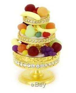 Estee Lauder Solid Perfume Compact Luscious Fruits Mint w Original Perfume