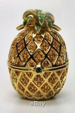 Estee Lauder Solid Perfume Compact Pineapple Glaze MIB