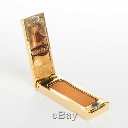 Estee Lauder Solid Perfume Compact Private Collection Tuberose Gardenia Box Full