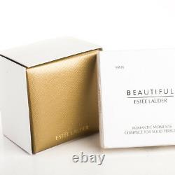 Estee Lauder Solid Perfume Compact Romantic Moments Scent Bottle Both Boxes
