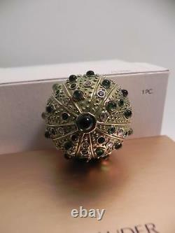 Estee Lauder Solid Perfume Compact Sea Urchin Both Boxes