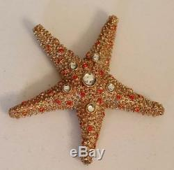 Estee Lauder Solid Perfume Compact Shimmering Starfish Both Boxes