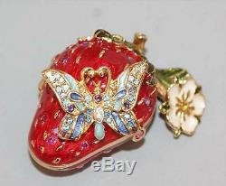 Estee Lauder Solid Perfume Compact Strongwater Strawberry Surprise Orig Perfume