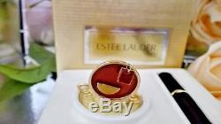 Estee Lauder Solid Perfume Compact TEA CUP 1998 WITH PARFUM