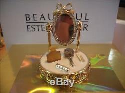 Estee Lauder Solid Perfume Compact Vanity MIB