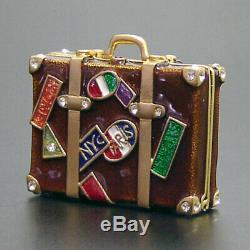 Estee Lauder Solid Perfume Compact World Traveler Original Perfume