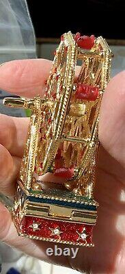 Estee Lauder Solid Perfume Ferris Wheel Compact Pleasures 2000